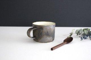 Nadeboriマグカップ M GB 半磁器 アトリエキウト 小出麻紀子商品画像