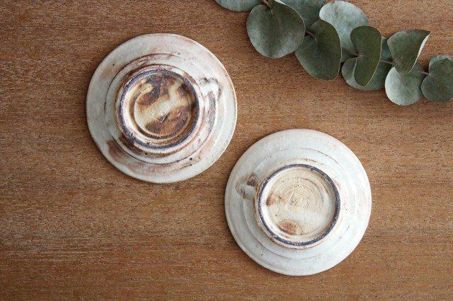鉄散 リム豆皿 陶器 古谷製陶所 画像6