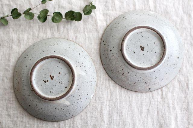 5寸皿 砂唐津三島 陶器 美濃焼 画像3