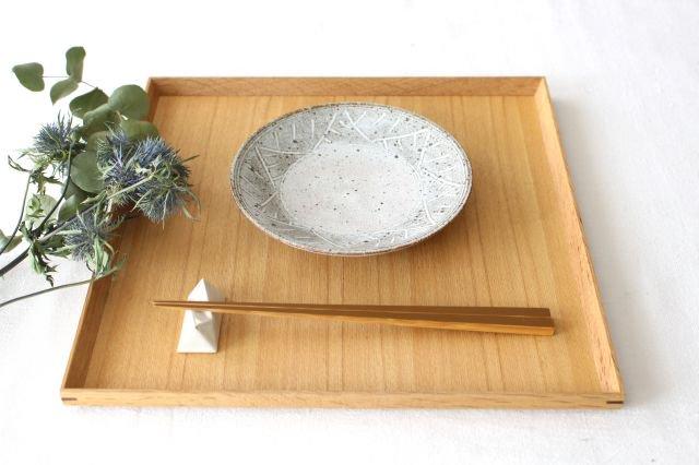 5寸皿 砂唐津三島 陶器 美濃焼 画像5