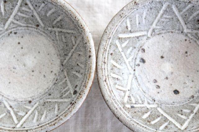 美濃焼 砂唐津三島 小皿 陶器 画像5