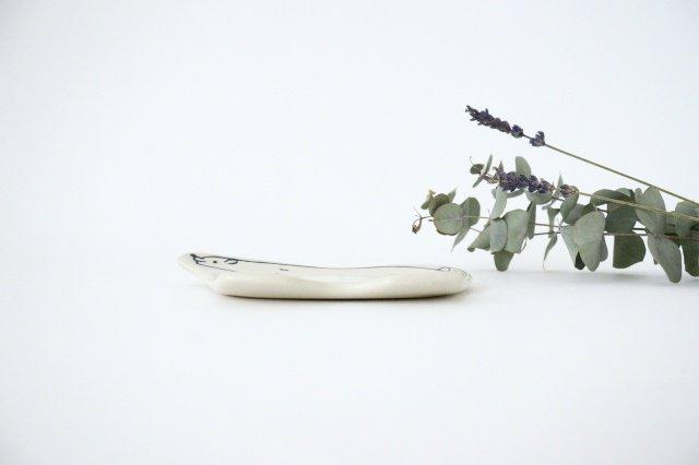 シロクマ皿 陶器 東峯未央 画像2