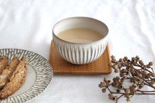 ボウル SS しのぎ 陶器 シモヤユミコ商品画像