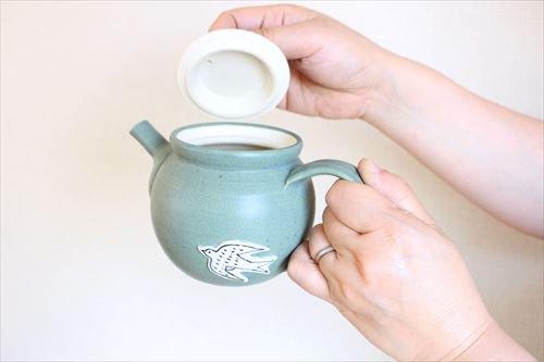 ツバメポット 陶器 東峯未央 画像4