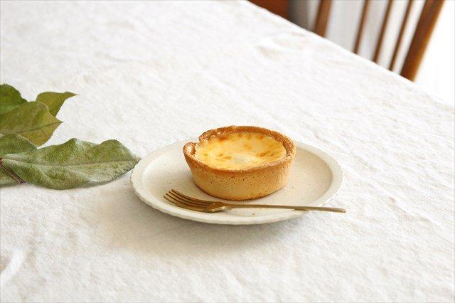 おやつ皿 きなりマット 陶器 たくまポタリー 画像3