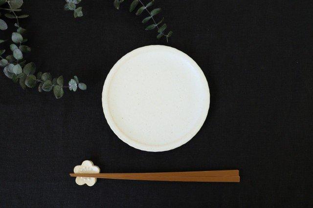 おやつ皿 きなりマット 陶器 たくまポタリー 画像4