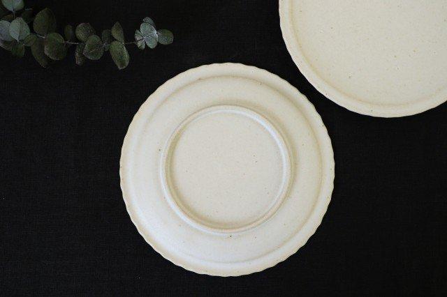 おやつ皿 きなりマット 陶器 たくまポタリー 画像6