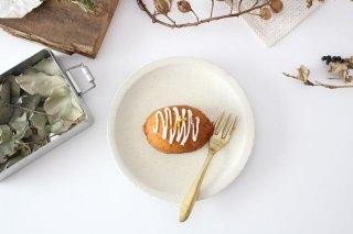 おやつ皿 きなりマット 陶器 たくまポタリー商品画像