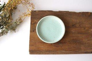丸小皿 ミント 半磁器 アトリエキウト 小出麻紀子商品画像