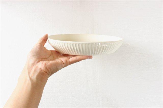 粉引台形皿 半磁器 アトリエキウト 小出麻紀子 画像4