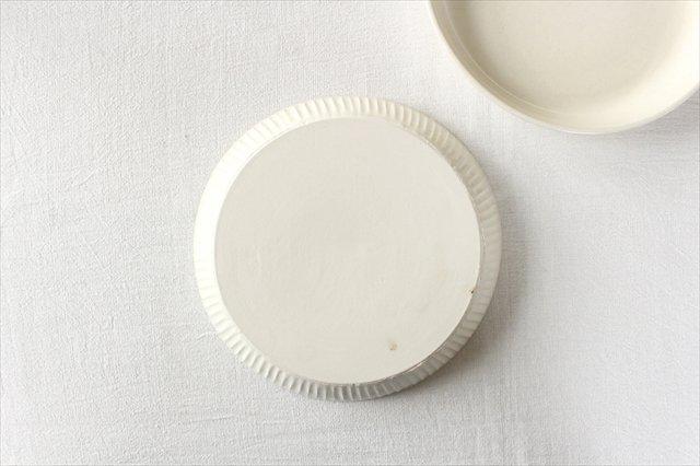 粉引台形皿 半磁器 アトリエキウト 小出麻紀子 画像5