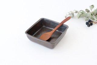 角鉢 黒 陶器 庄司理恵商品画像