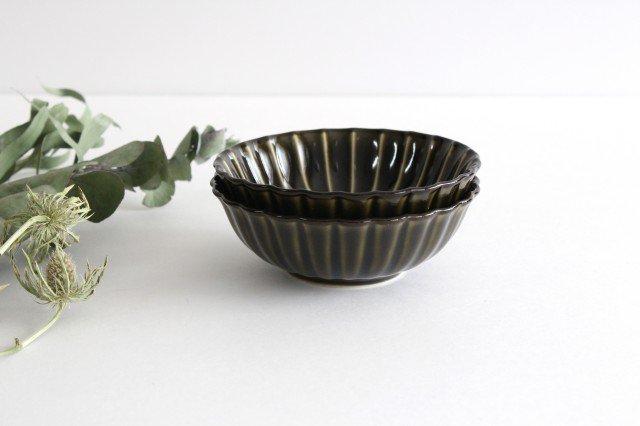 美濃焼 ぎやまん4寸鉢 利休(緑) 磁器 画像6