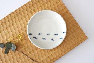 豆皿 鳥のあしあと 陶器 村田亜希商品画像