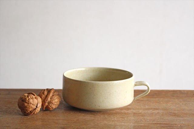 スープカップ 黄瀬戸釉RF 半磁器 こいずみみゆき 画像2