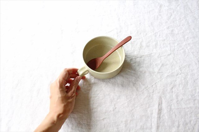 スープカップ 黄瀬戸釉RF 半磁器 こいずみみゆき 画像3