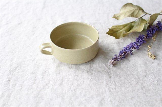 スープカップ 黄瀬戸釉RF 半磁器 こいずみみゆき 画像6