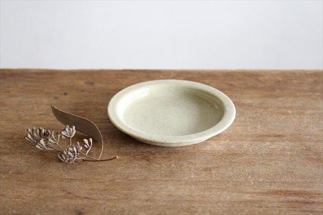 まめ皿 黄瀬戸釉OF 半磁器 こいずみみゆき 画像2
