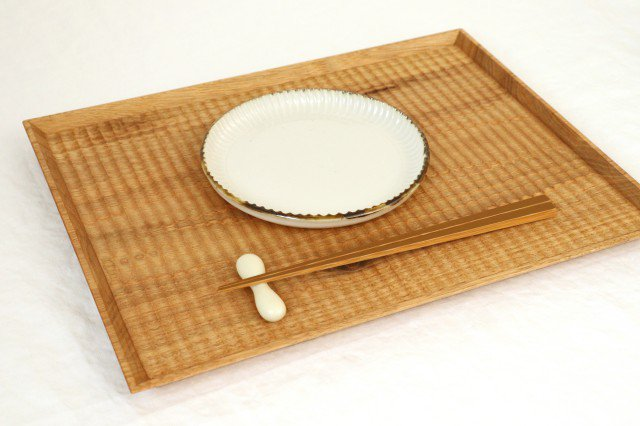 丸平皿 M ホワイト 半磁器 アトリエキウト 小出麻紀子 画像3