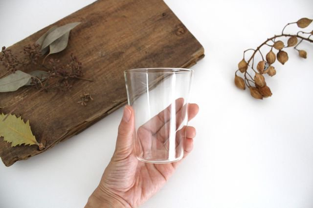 THE GLASS SHORT 240ml 耐熱ガラス 中川政七商店 画像3