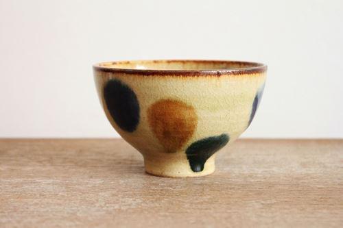 美濃焼 飯碗 三彩 陶器商品画像