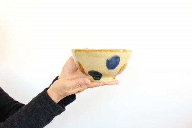 美濃焼 丼 三彩 陶器 画像3