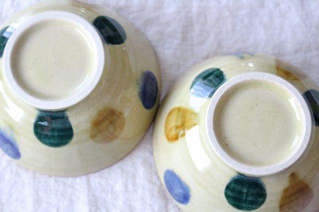 美濃焼 丼 三彩 陶器 画像5