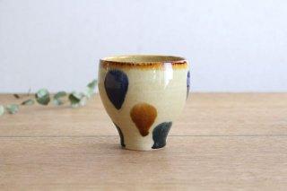 美濃焼 湯のみ 三彩 陶器商品画像