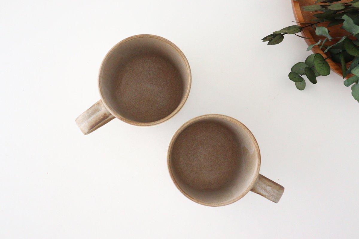 マグカップ ツートンマット 陶器 翁明窯元 小石原焼 画像3