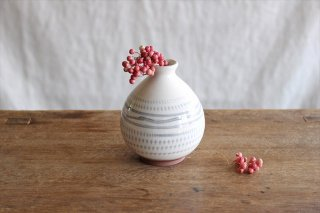 花器 トビカンナ【A】 陶器 福嶋製陶 小石原焼商品画像