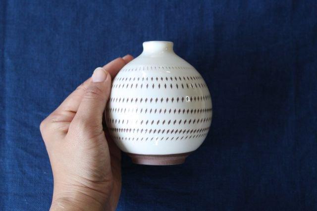 花器 トビカンナ 【C】 陶器 福嶋製陶 小石原焼 画像2