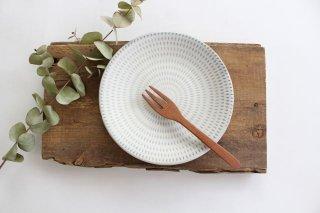 5.5寸皿 トビカンナ白 陶器 福嶋製陶 小石原焼商品画像
