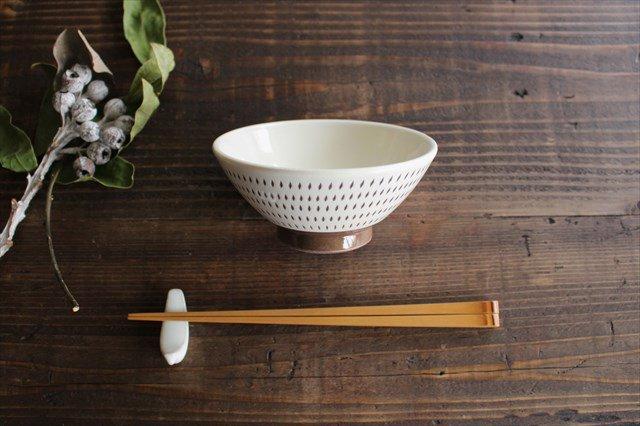 飯碗 トビカンナ 陶器 福嶋製陶 小石原焼
