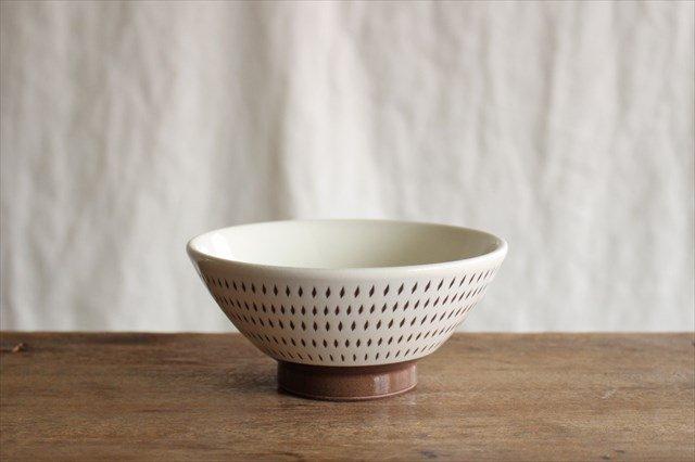 飯碗 トビカンナ 陶器 福嶋製陶 小石原焼 画像2
