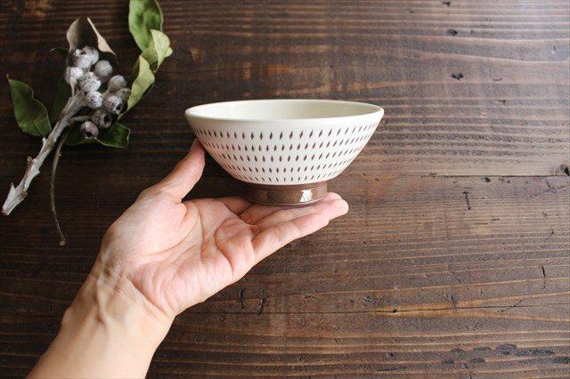 飯碗 トビカンナ 陶器 福嶋製陶 小石原焼 画像4