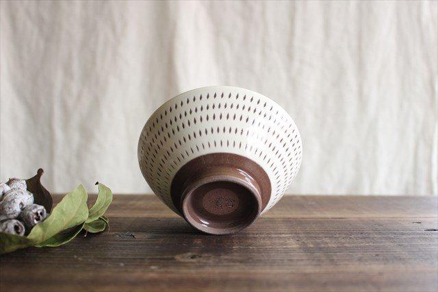 飯碗 トビカンナ 陶器 福嶋製陶 小石原焼 画像5