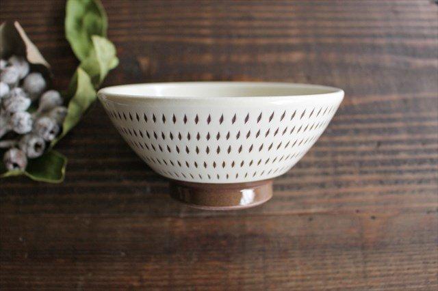 飯碗 トビカンナ 陶器 福嶋製陶 小石原焼 画像6