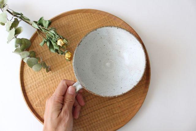 美濃焼 粉引細削ぎ スープカップ 陶器 画像2