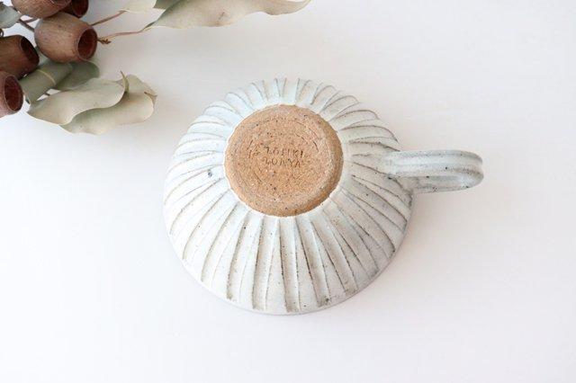 美濃焼 粉引細削ぎ スープカップ 陶器 画像3