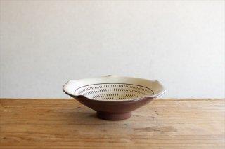 小石原焼 トビカンナ輪花鉢 陶器 ヤマイチ窯商品画像