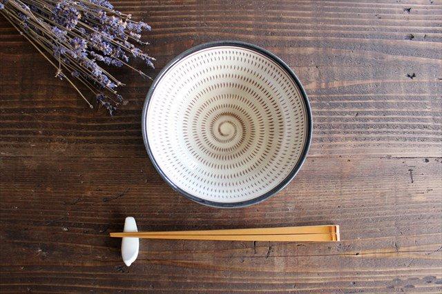 小石原焼 トビカンナサラダボウル 陶器 ヤマイチ窯 画像2