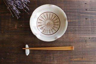 小石原焼 ハケメ輪花鉢 陶器 ヤマイチ窯商品画像