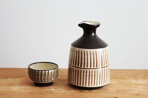 【一点もの】小石原焼 酒器セット 陶器 ヤマイチ窯商品画像