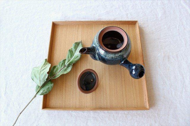小石原焼 ナマコ釉急須 陶器 ヤマイチ窯 画像2