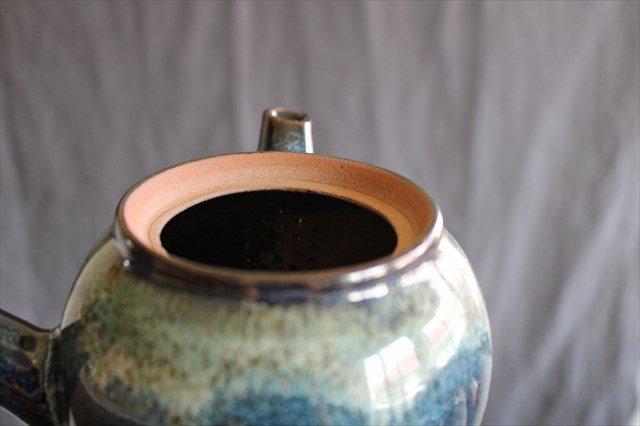 小石原焼 ナマコ釉急須 陶器 ヤマイチ窯 画像3