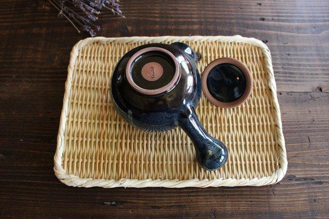 小石原焼 ナマコ釉急須 陶器 ヤマイチ窯 画像4