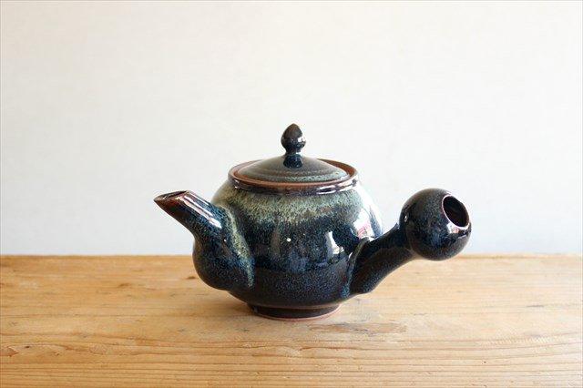 小石原焼 ナマコ釉急須 陶器 ヤマイチ窯 画像5