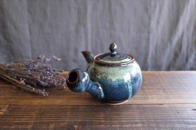 小石原焼 ナマコ釉急須 陶器 ヤマイチ窯 画像6
