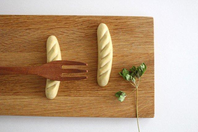 パンのカトラリーレスト バゲット 陶器 村田亜希