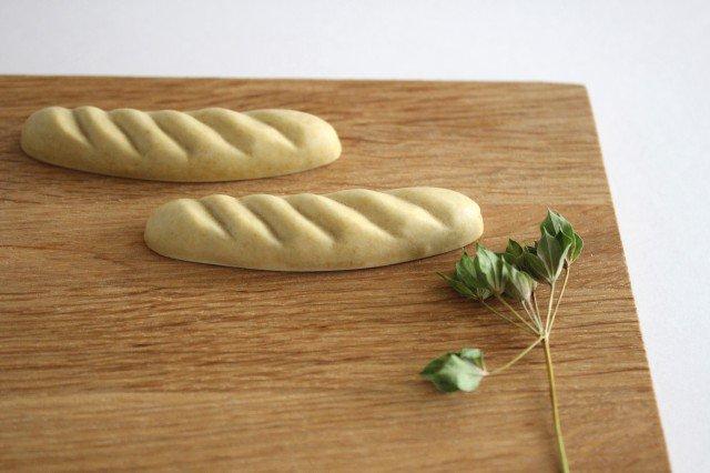パンのカトラリーレスト バゲット 陶器 村田亜希 画像6
